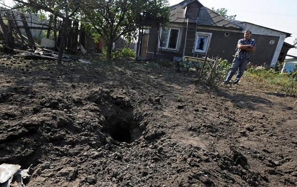 Три мирных жителя ранены в Донецке во второй половине дня