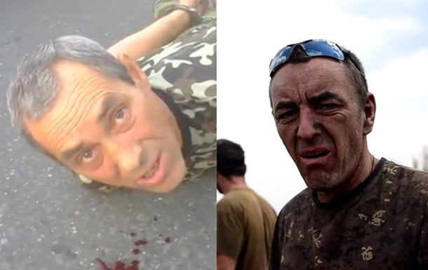 Взятый в плен сепаратист оказался похожим на бойца 72-й бригады