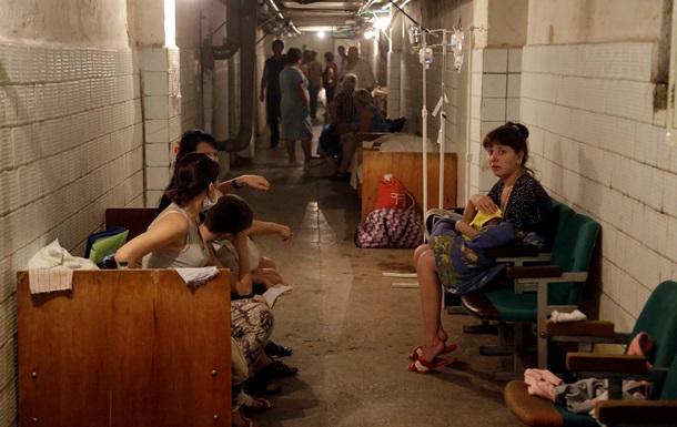 Больницы Донецка перевели на резервное электроснабжение
