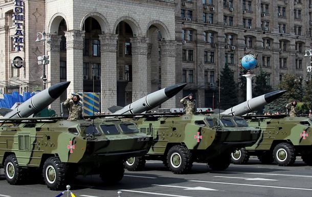 В Киеве состоялся парад ко Дню Независимости