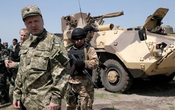 Только армия и Нацгвардия способны завершить войну - Турчинов