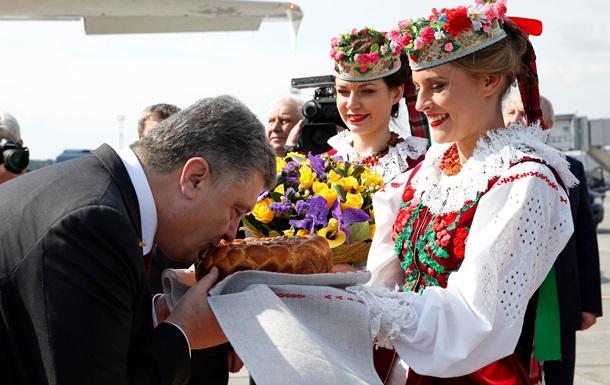 Порошенко прилетел в Минск, ожидается прибытие Эштон и Путина