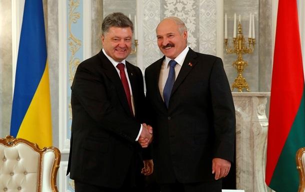 Порошенко и Лукашенко договорились о сотрудничестве в энергетической сфере