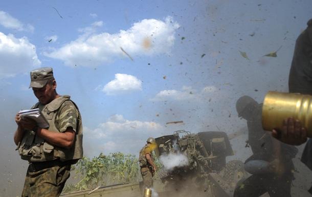 Военные украинской армии перешли в наступление в районе Хрящеватого