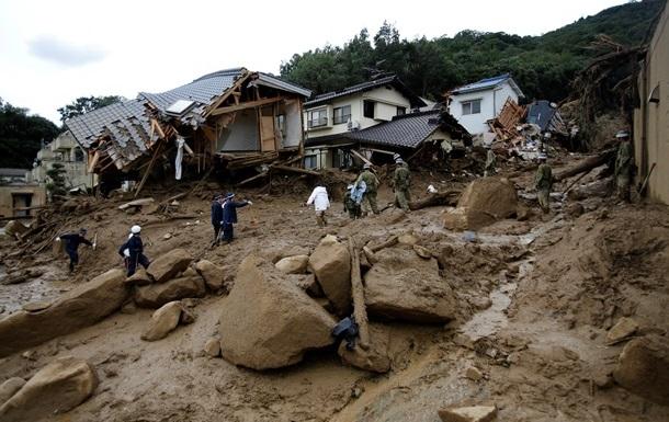 Число жертв схода оползня в Хиросиме возросло до 70