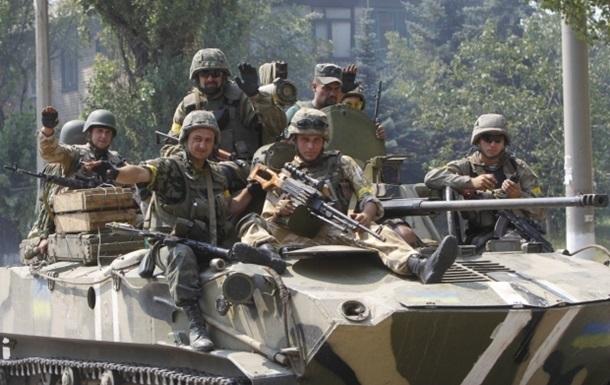 Силы АТО ведут оборонительные бои за три населенных пункта и зачищают еще три