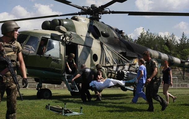 Из Иловайска эвакуировали погибших и раненых бойцов