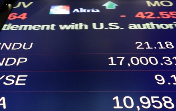 Основные индексы на биржах США снизились