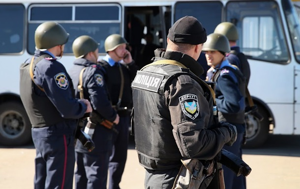В зону АТО отправились 150 милиционеров из Киева