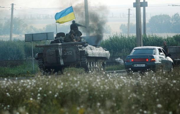 В Нацгвардии сообщают о взятии населенного пункта Комсомольское