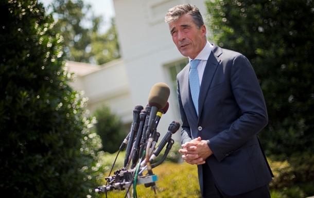 Украина в будущем при желании может стать членом НАТО - Расмуссен
