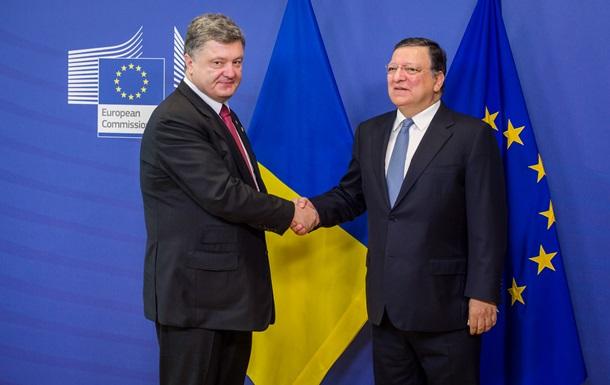 Председатель Еврокомиссии посетит Украину 11-12 сентября