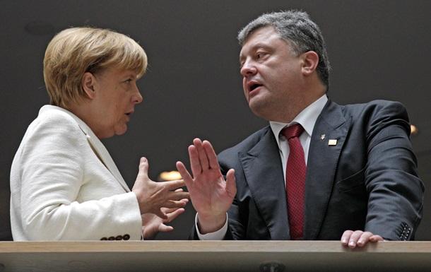 Меркель против поставок немецкого оружия в Украину