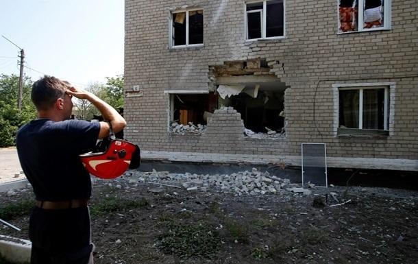 Обстрелы Донецка повредили газопровод