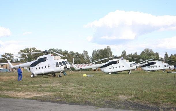 Авиакомпания Украинские вертолеты готова передать пять авиамашин для перевозки раненых из зоны АТО