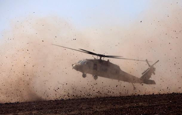 Вертолет морской пехоты США  упал в Аденский залив