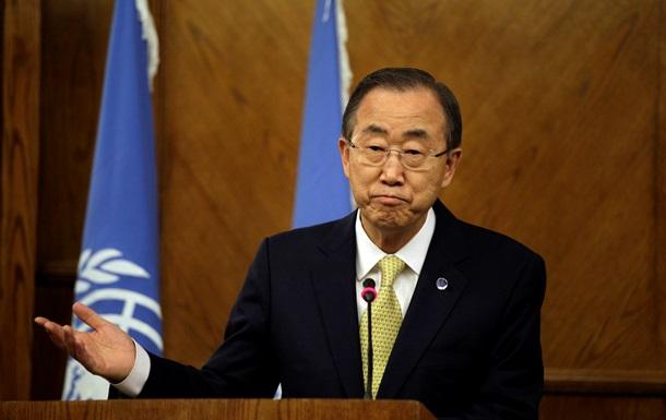 Ситуацию в Украине не разрешить военными действиями - Пан Ги Мун