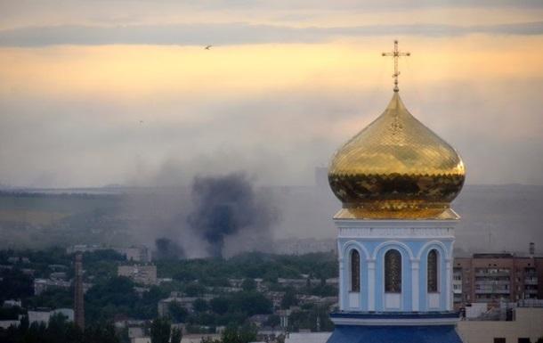 Обстрел Луганска продолжается