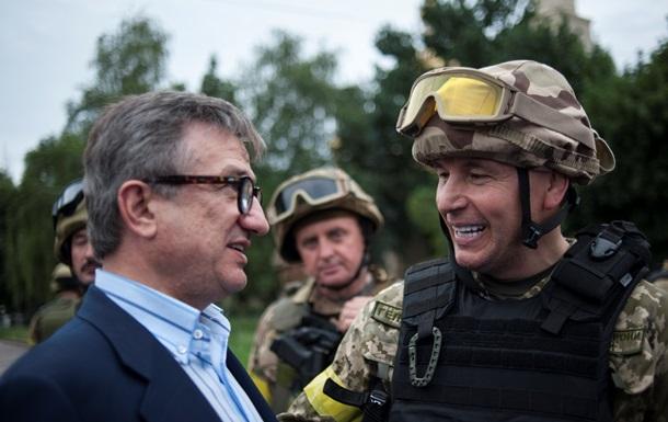 Донецкий губернатор: Мы воюем не с сепаратистами, а с иностранными боевиками