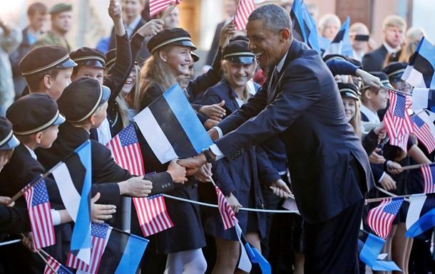 DW: Визит Обамы в Таллин - сигнал Москве