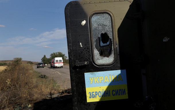 Под Луганском уничтожили лагерь сил АТО