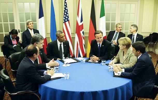 Украина получила поддержку стран-членов НАТО - Порошенко