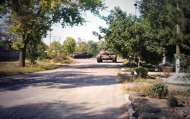 Возле Новоазовска уничтожен укрепрайон сил АТО – батальон Азов