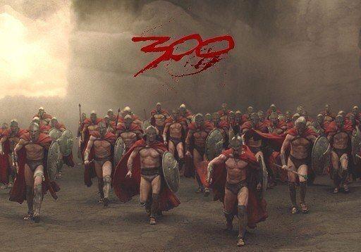 300 спартанцев сражаясь за правду, бороздят Facebook
