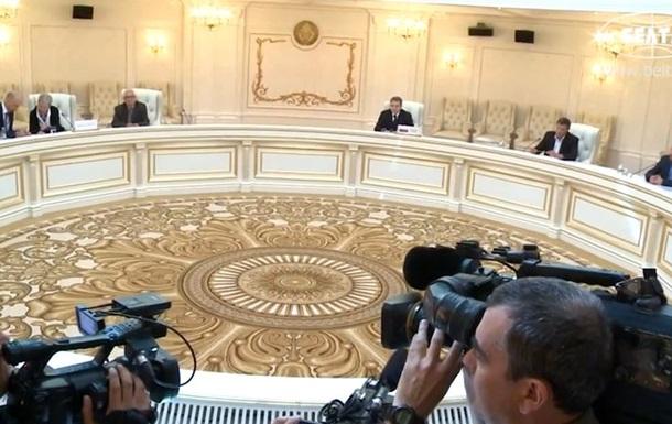 В Минске подписали протокол о прекращении огня на Донбассе