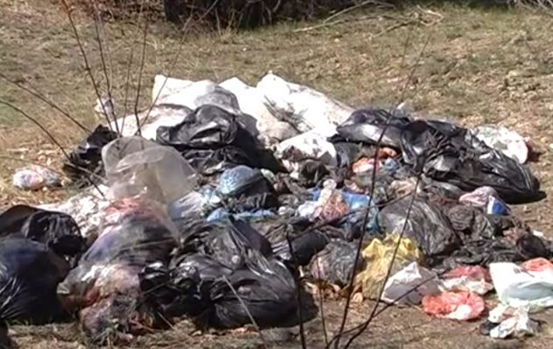 Более тонны ампутированных конечностей нашли в лесу Запорожской области