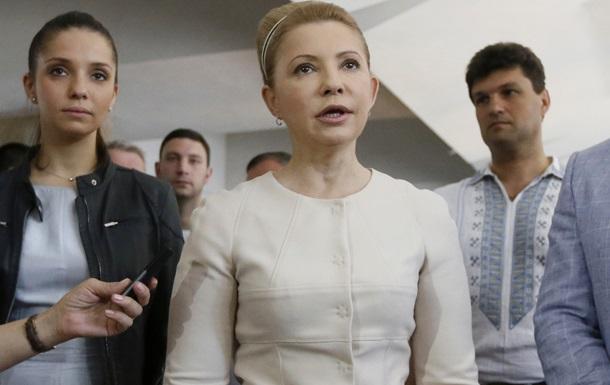 Вступление в НАТО защитит Украину от любых посягательств Кремля - Тимошенко