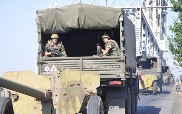На юге Одесской области прошли военно-тактические учения