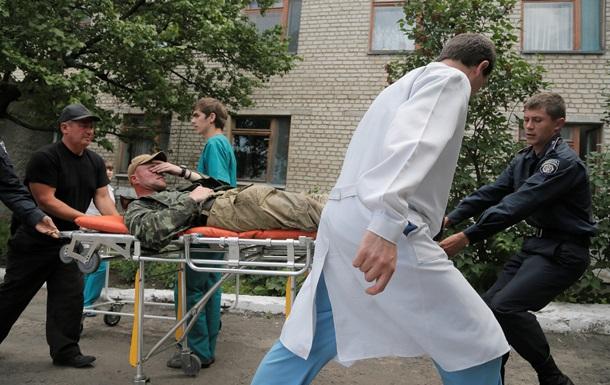 Тридцать столичных медиков отправились добровольцами на Донбасс