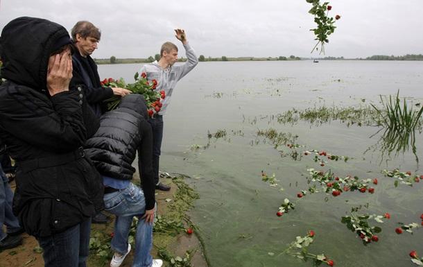 В Ярославле почтили память игроков хоккейного клуба Локомотив