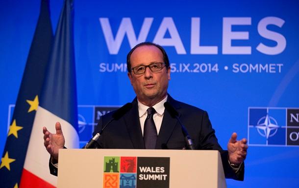 Франция отказалась комментировать информацию о поставках оружия в Украину