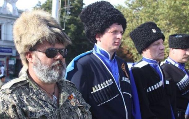 СМИ: Казак Бабай разгуливает по центру Симферополя