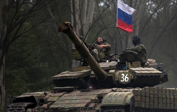 Атака Мариуполя танками