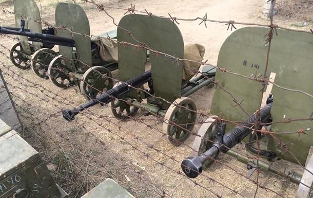 Батальон Феникс получил вооружение 40-60-х годов