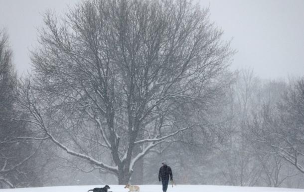 На западе Канады неожиданно выпал снег