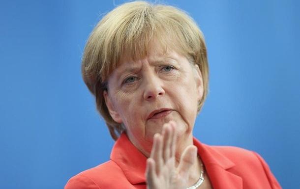 Меркель: Санкции - единственное средство нажима на Россию
