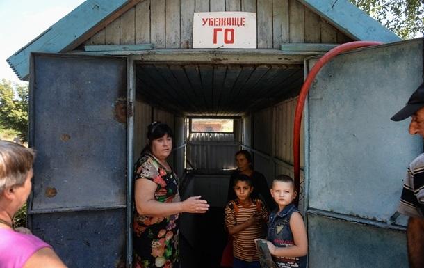 Чиновники не знают, где размещать семьи и детей из зоны АТО