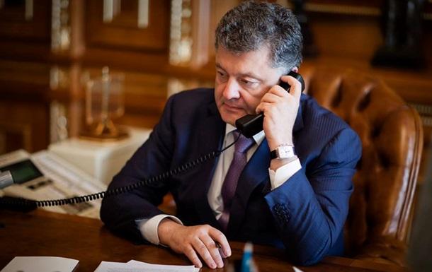 Порошенко и Путин поговорили о режиме прекращения огня на Донбассе