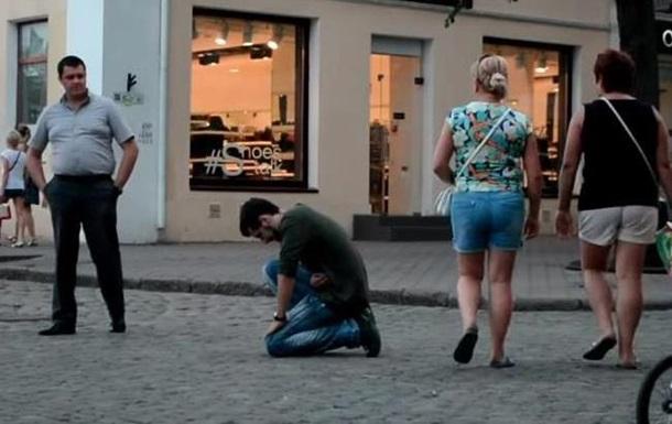 В Одессе повторили скандальный эксперимент Человеку плохо
