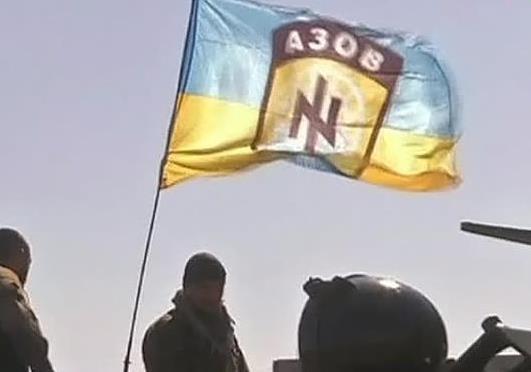 Украинская символика вызвала скандал на немецком телевидении.