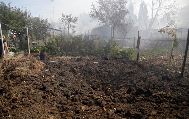 В Донецке ночью возобновился артобстрел