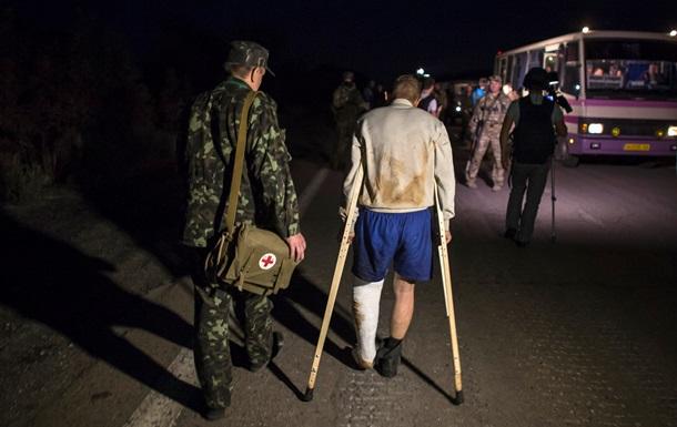 Как проходил обмен пленными в Донецке