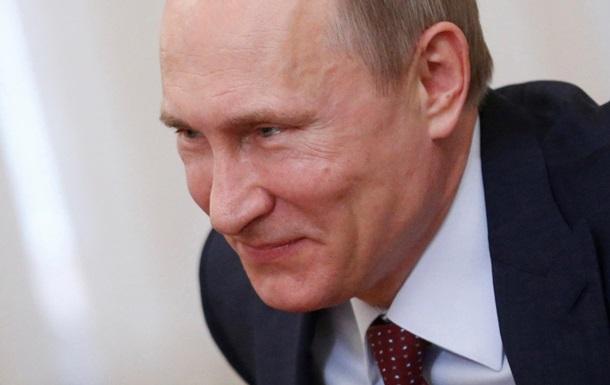 Путин приветствовал санкции против российских чиновников