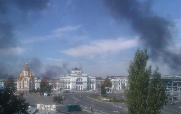 В Донецке идут артобстрелы в двух районах ‒ мэрия