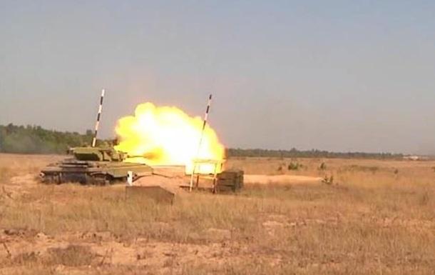 Нацгвардия показала, как готовит танковые подразделения