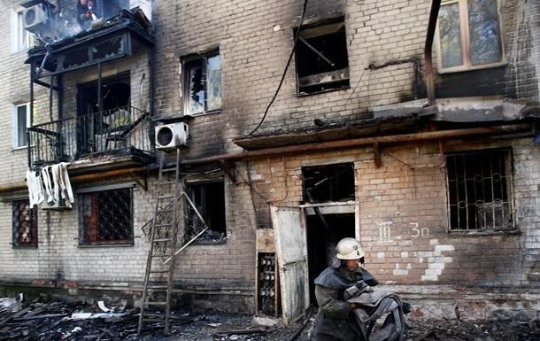 Бои в Донецке: погибли два человека, горят частные дома – мэрия